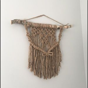 Other - Jute macrame wall hanging